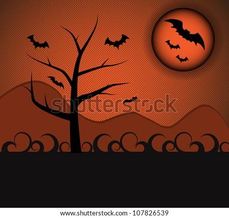 halloween style nature