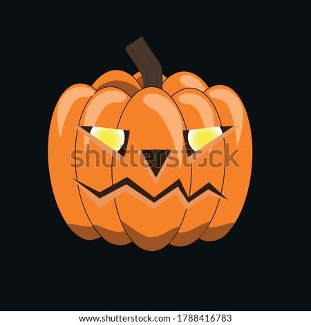 halloween symbol carved