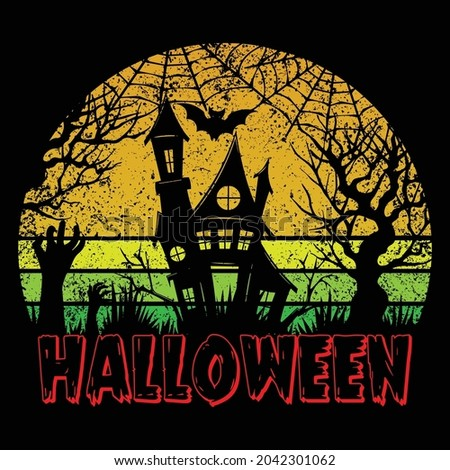halloween t shirt design