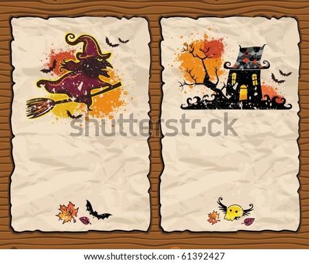 Halloween textured backgrounds 5
