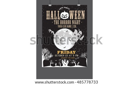 halloween the horror night party
