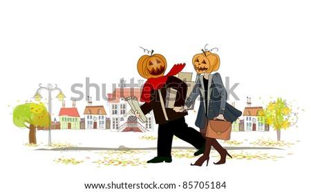 Halloween time illustration