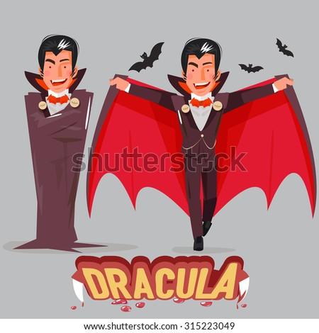 halloween vampire character