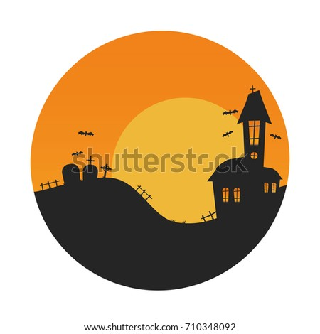 Halloween Vector Background, Halloween Vector Icon.