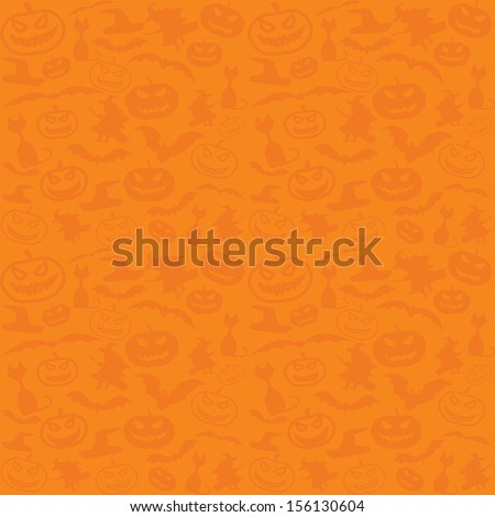 Halloween vector background with copyspace