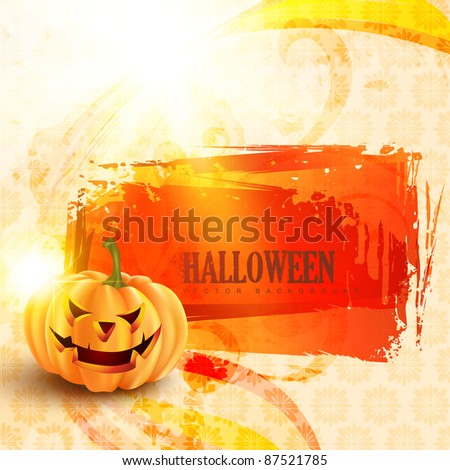 halloween vector design with
