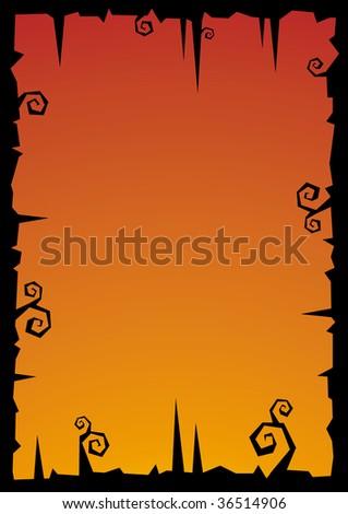 Halloween vector illustration background
