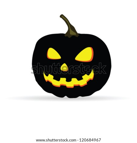halloween vector illustration on a white background