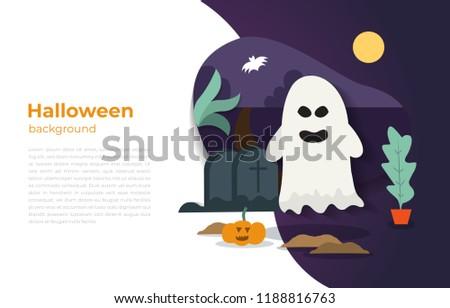 halloween vector wraith