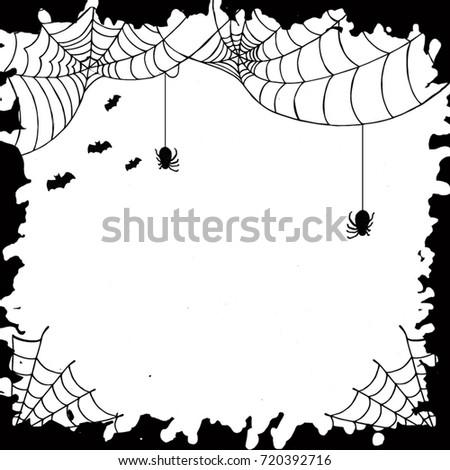 Halloween Watercolor Background #720392716