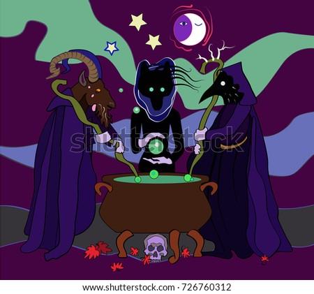 halloween witchcraft three