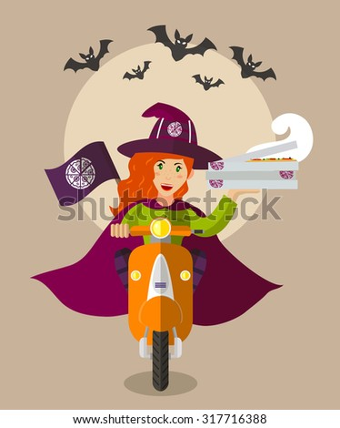 halloween wizard food delivery