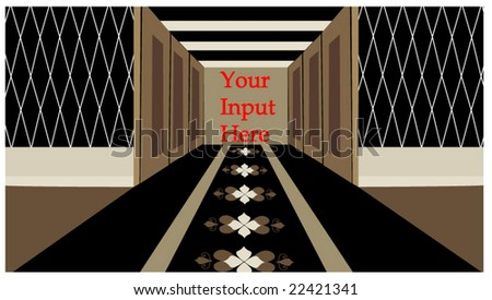 hallway with room for your input