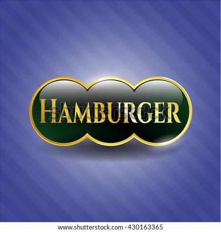 Hamburger golden badge