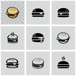 Hamburger icons set