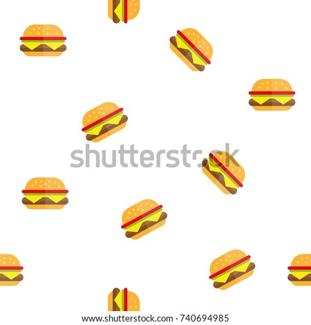 hamburger texture pattern fast