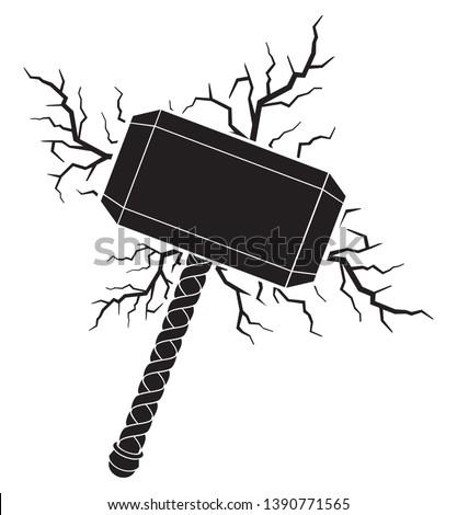 hammer of thor and lightning