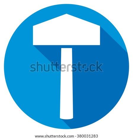 hammer of thor flat icon  thor