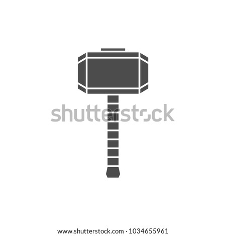 hammer of thor silhouette