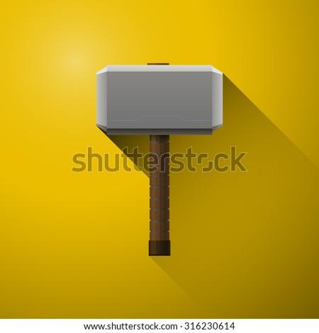 Hammer of Thor, the vikings, comics, hammer of god, Mjölnir
