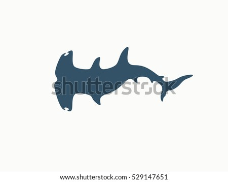 hammerhead shark logo