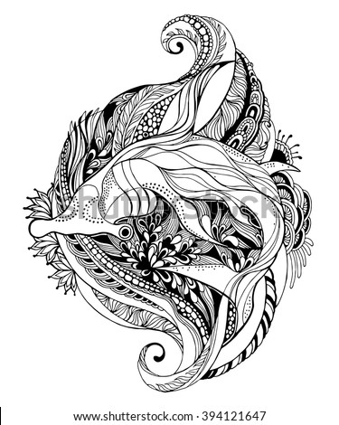 hammerhead shark tattoo