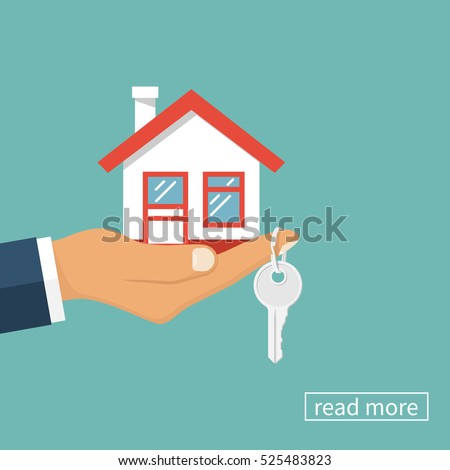 hand agent with home in palm