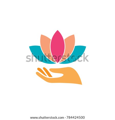 Hand And Flower Logo
