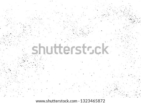 Hand crafted vector texture. Abstract background. Scattered black pepper. Overlay illustration over any design to create grungy effect and depth. For posters, banners, retro designs. #1323465872