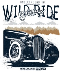 hand draw hotrod cars,hot rods car,old school car, vintage car