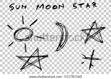 Funny Sun And Moon Character Vector Download Free Vector Art