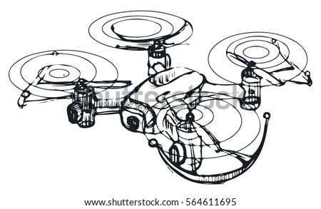Drone Free Vector Art