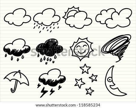 hand draw Weather icon