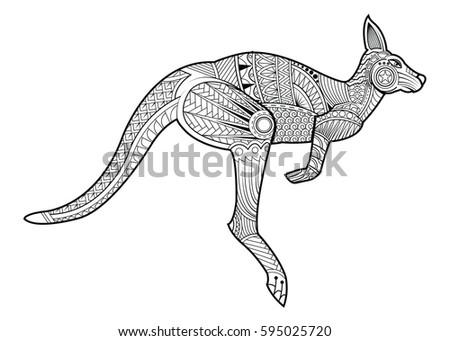 Vector libre de canguro - Descargue Gráficos y Vectores Gratis