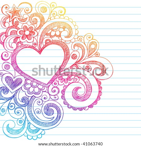 Cute Notebook Paper Background Notebook Paper Background