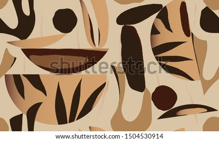 hand drawn abstract pattern