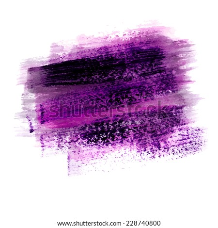 stock-vector-hand-drawn-acrylic-element-violet-stroke-isolated-on-white-background