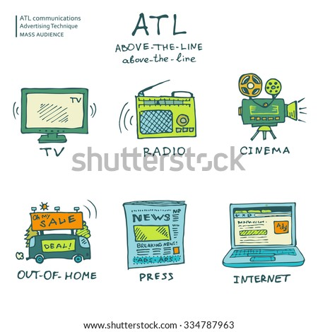 hand drawn atl communications