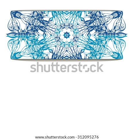 hand drawn background with