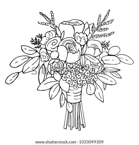 Bouquet clipart bridal bouquet, Bouquet bridal bouquet Transparent FREE for  download on WebStockReview 2020