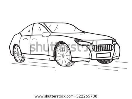 Car Sketch Download Free Vector Art Stock Graphics Images