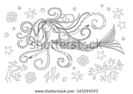 hand drawn cartoon illustration
