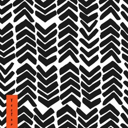Hand drawn chevron. Abstract background with brush strokes zig zag. Vector seamless pattern.