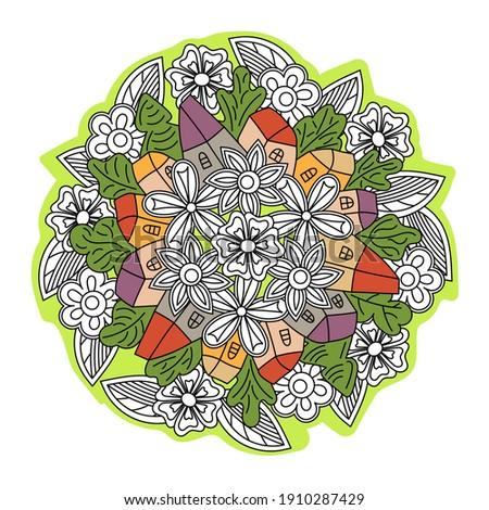 hand drawn doodle illustration