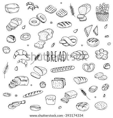 how to draw a bagel
