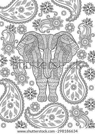 Stunning Coloring Page Elephant Design Images - New Coloring Pages ...