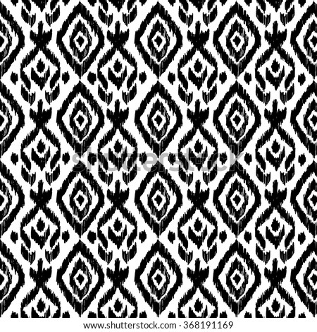 Hand drawn ethnic seamless pattern. Wrapping print. Wallpaper decor Tribal, mexican, folk background. Ethnic motif for wrapping, wallpaper, fabric, textile, craft, embroidery