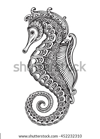 hand drawn graphic ornate