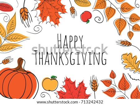 happy thanksgiving day vector download free vector art stock