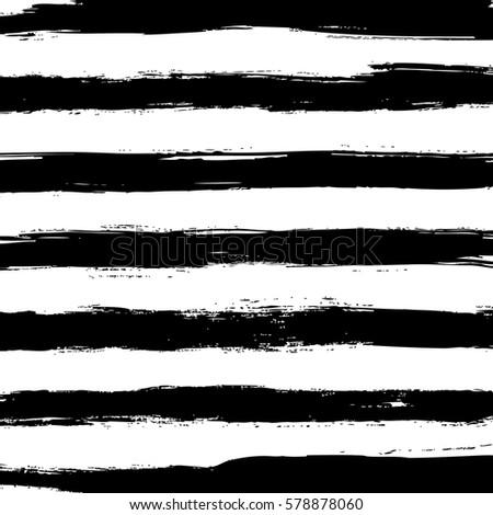 hand drawn horizontal stripes pattern background #578878060